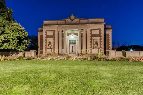 Photograph - Milton Public Library by Brian MacLean