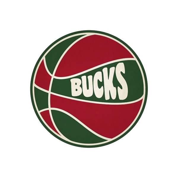 Buck Photograph - Milwaukee Bucks Retro Shirt by Joe Hamilton