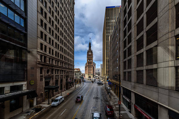 Photograph - Milwaukee City Hall by Randy Scherkenbach