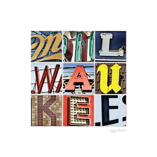 Wall Art - Digital Art - Milwaukee by Geoff Strehlow