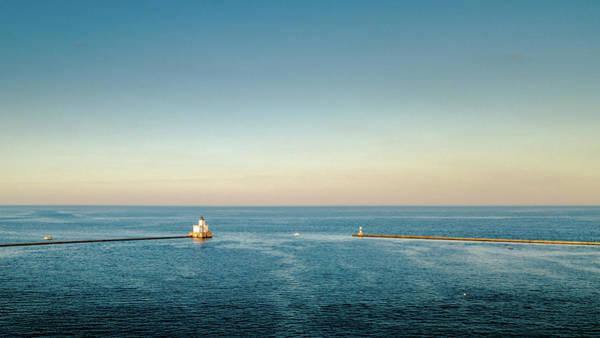Photograph - Milwaukee Harbor by Randy Scherkenbach
