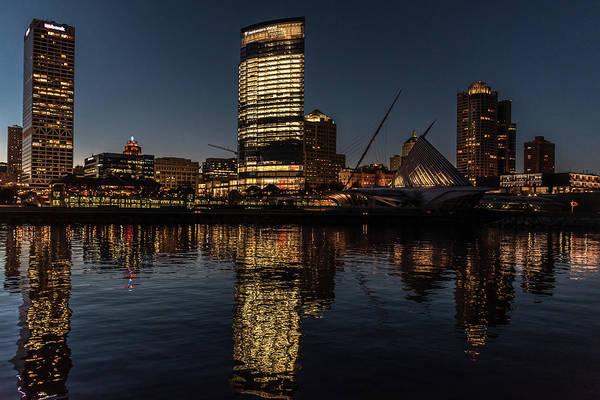 Photograph - Milwaukee Reflections by Randy Scherkenbach