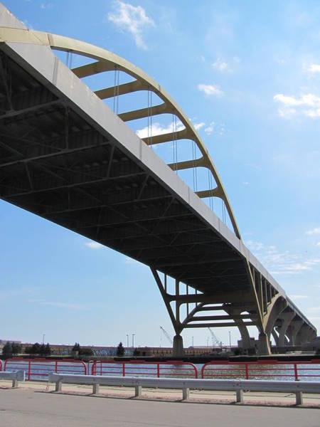 Photograph - Milwaukee Under The Hoan Bridge by Anita Burgermeister