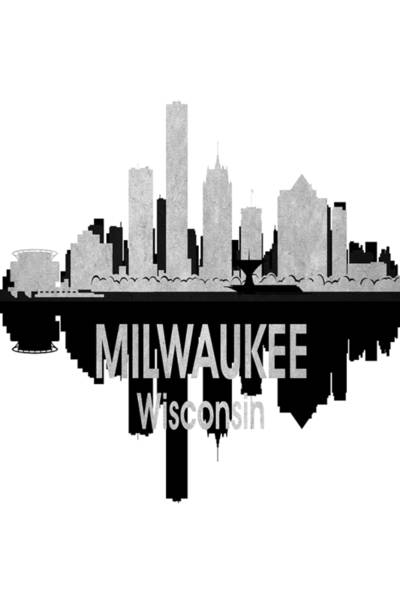Digital Art - Milwaukee Wi 4 Vertical by Angelina Tamez