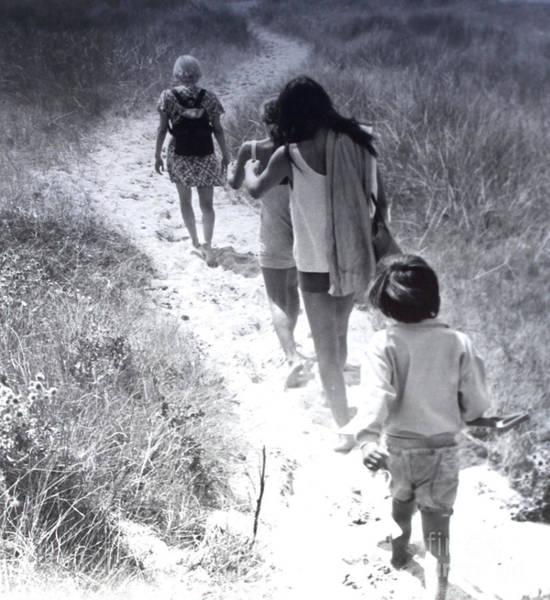 Photograph - Mimi, Gina,thoma Et Karine En France by Kasey Jones