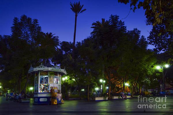 Photograph - Mina Square Cadiz Spain by Pablo Avanzini