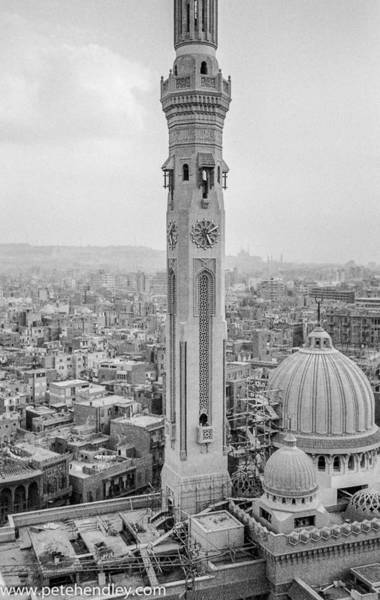 Photograph - Minaret In Cairo by Pete Hendley