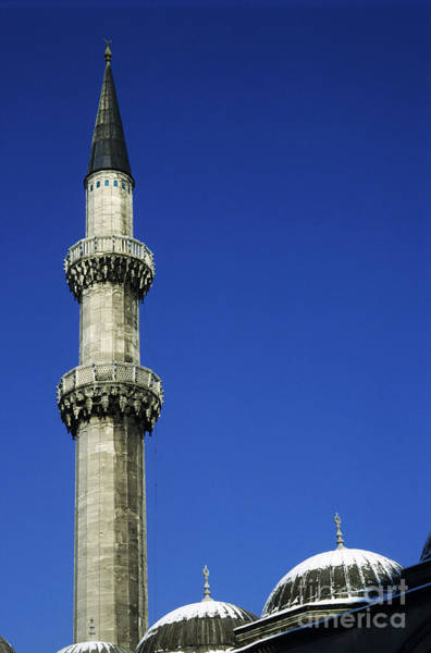 Wall Art - Photograph - Minarets And Dome Roof Of The Suleymaniye Mosque by Sami Sarkis