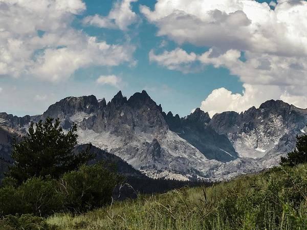 Photograph - Minarets  Sierra Nevada Mountains by NaturesPix