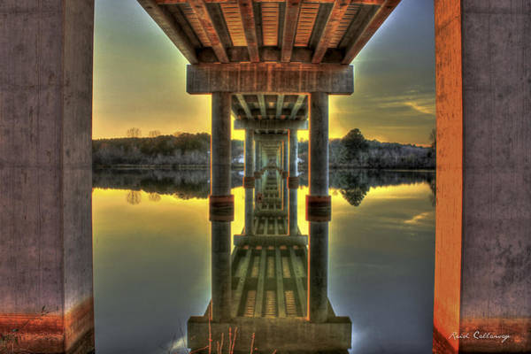 Photograph - Mind Game Reflection Concrete Tunnel by Reid Callaway