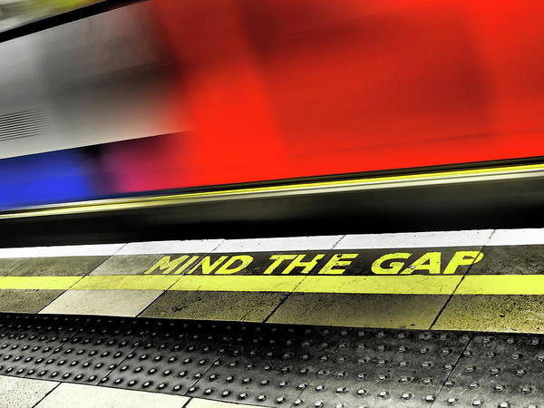 Photograph - Mind The Gap by Rona Black