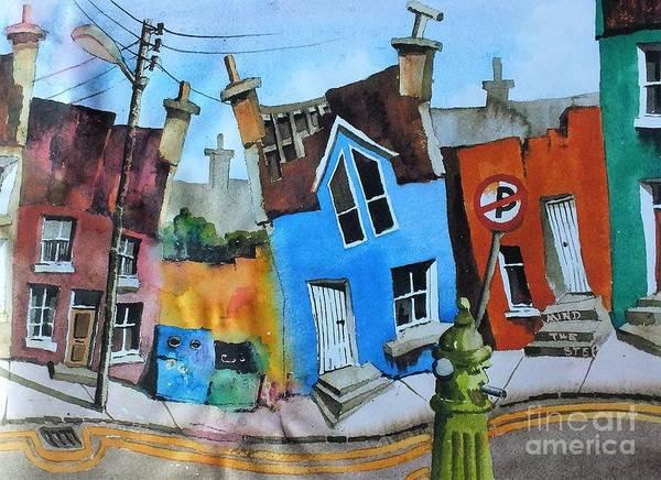 Painting - Mind The Step In Ardgrooom by Val Byrne