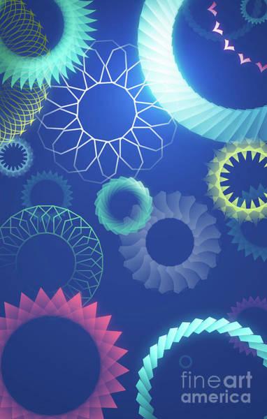 Wall Art - Digital Art - Mind Trips - Moonshine Spirit by Peter Awax