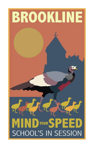 Turkey Digital Art - Mind Your Speed by Caroline Barnes
