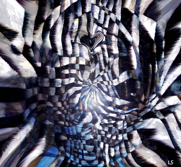 Checker Digital Art - Mindcrime by Linda Sannuti