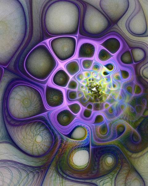 Wall Art - Digital Art - Mindscapes by Amanda Moore
