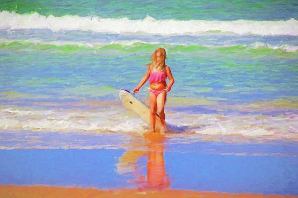 Photograph - Mindy Sue At The Beach by Alice Gipson