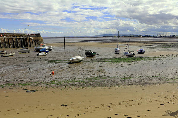 Photograph - Minehead Harbour by Tony Murtagh