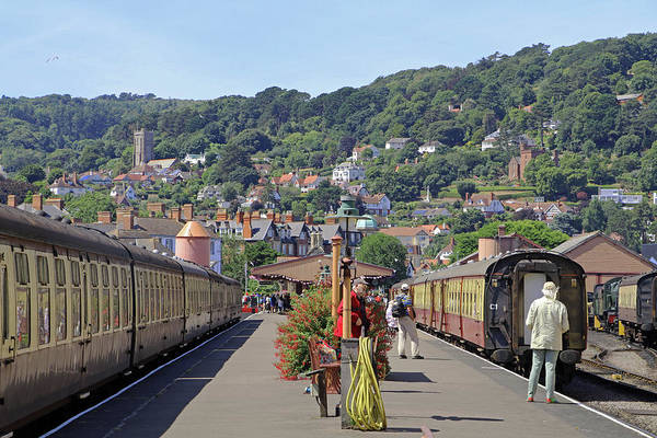 Photograph - Minehead Station by Tony Murtagh