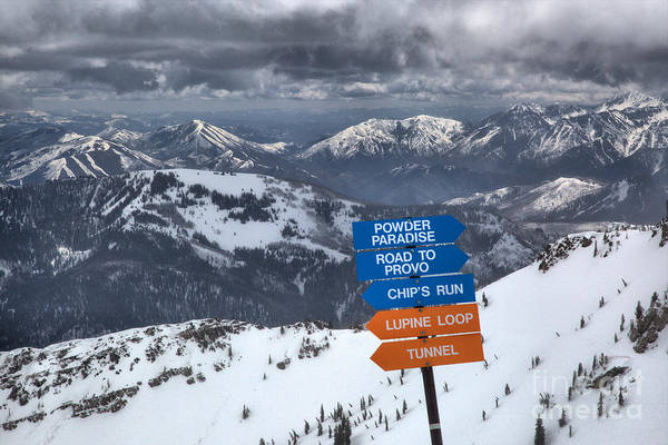Photograph - Mineral Basin Choices by Adam Jewell