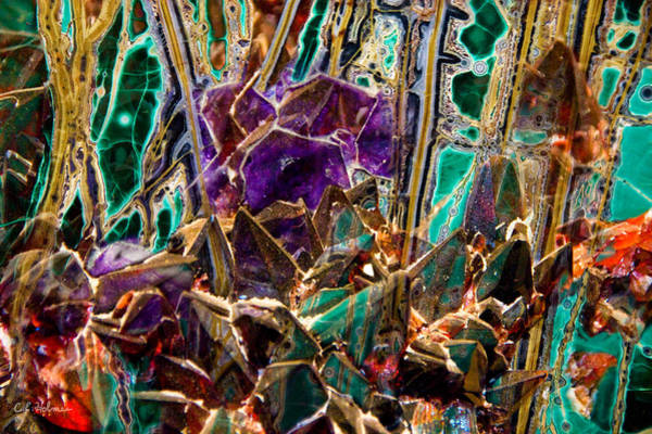 Photograph - Mineral Maelstrom by Christopher Holmes