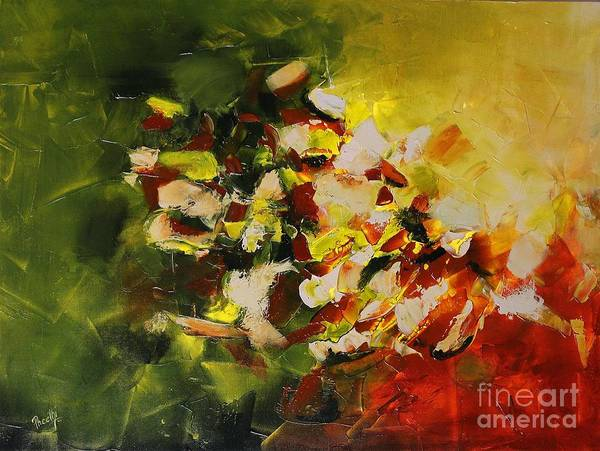 Painting - Minerals by Preethi Mathialagan