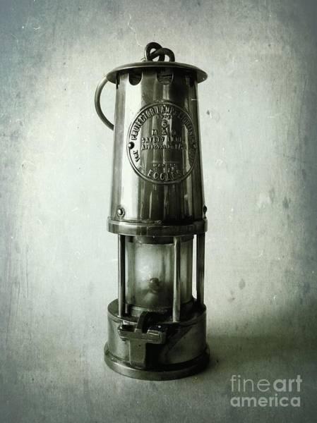 Coal Mining Photograph - Miners Lamp by John Edwards