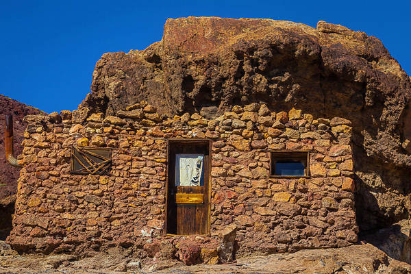 Wall Art - Photograph - Miners Stone Shack by Garry Gay