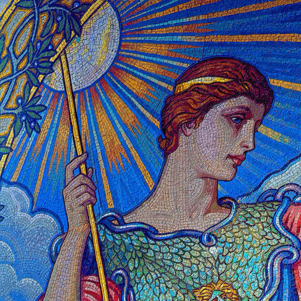 Painting - Minerva Goddess Of Wisdom 1 by Tony Rubino