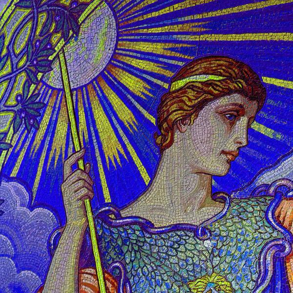 Painting - Minerva Goddess Of Wisdom 4 by Tony Rubino
