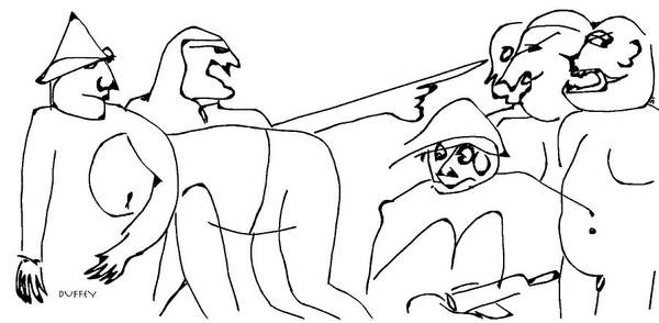 Digital Art - Minette Warned The Lafarge Bros. About Getting Alphonse Drunk Again by Doug Duffey