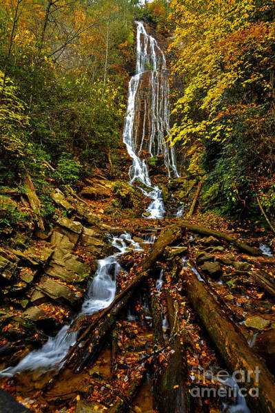 Photograph - Mingus Falls by Dave Bosse