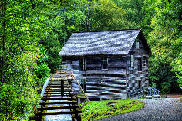 Photograph - Mingus Mill by Dale R Carlson
