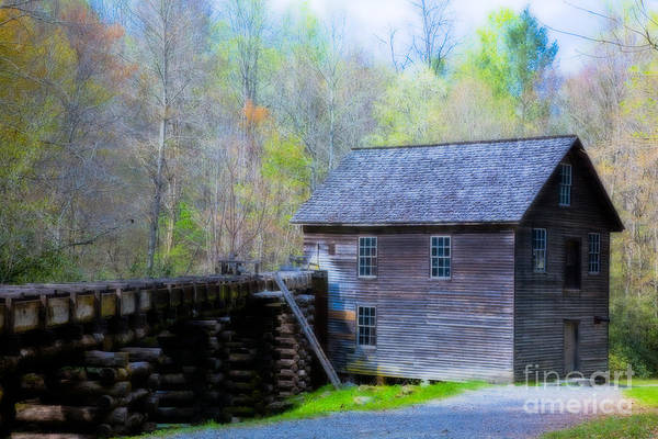 Mingus Mill Photograph - Mingus Mill Dreamed by Irene Abdou