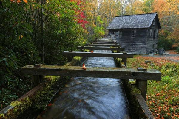 Photograph - Mingus Mill by Carol and Frank Montoya