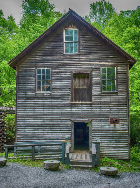 Wall Art - Photograph - Mingus Mill Front View by Paul Freidlund