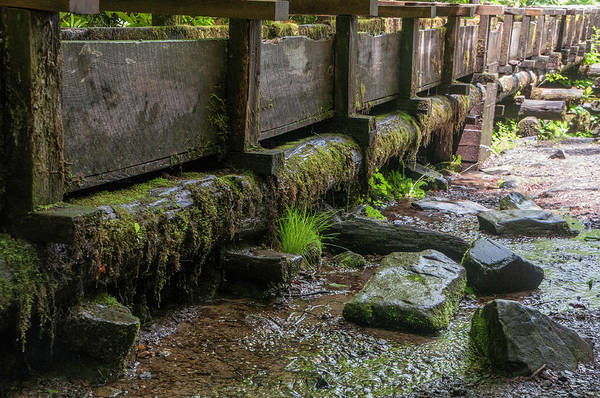 Millrace Wall Art - Photograph - Mingus Mill Millrace by Phyllis Taylor