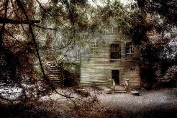 Mingus Mill Photograph - Mingus Mill N.c. by Mike Eingle