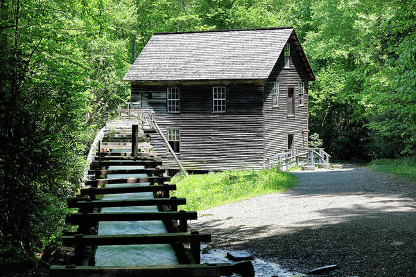 Millrace Wall Art - Photograph - Mingus Mill by Nicholas Blackwell