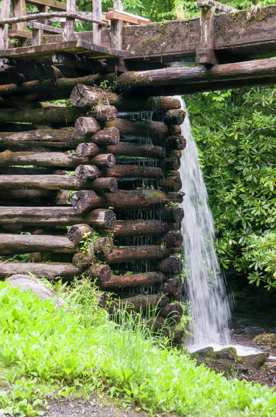 Mingus Mill Photograph - Mingus Mill Overflow by Phyllis Taylor