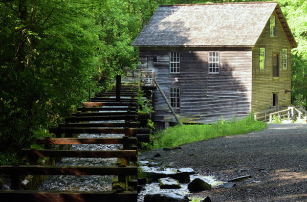 Millrace Wall Art - Photograph - Mingus Mill by Pat Turner