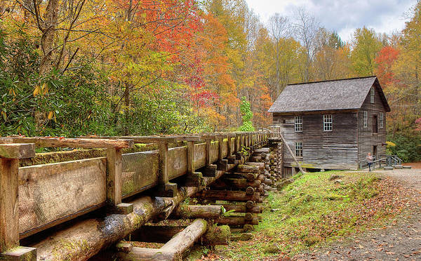 Photograph - Mingus Mill by Ree Reid