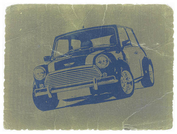 American Cars Photograph - Mini Cooper by Naxart Studio