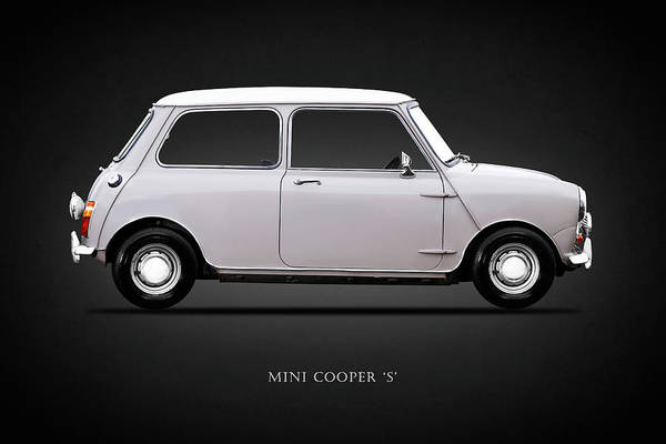 Mini Cooper Wall Art - Photograph - Mini Cooper S 1968 by Mark Rogan