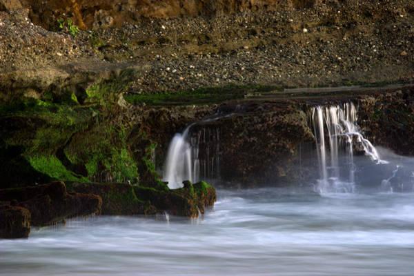 Photograph - Mini Falls Laguna Beach by Brad Scott