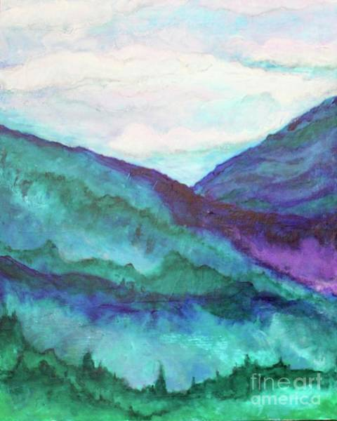 Painting - Mini Mountains Majesty by Kim Nelson