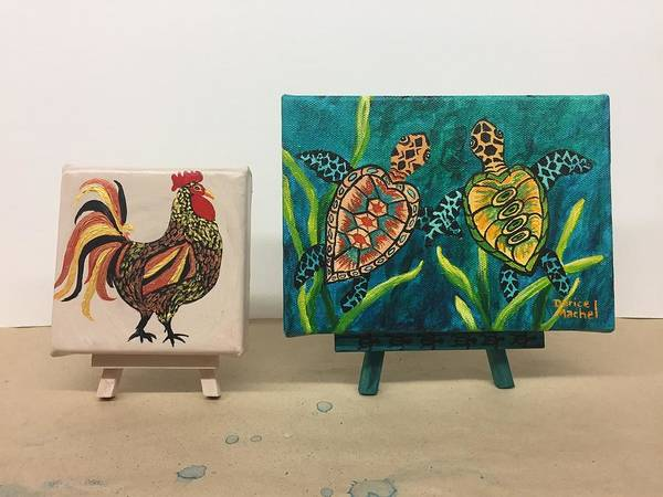 Painting - Miniature Art by Darice Machel McGuire