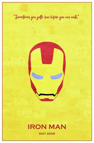 Tony Digital Art - Minimal Movie Poster I by Ricky Barnard