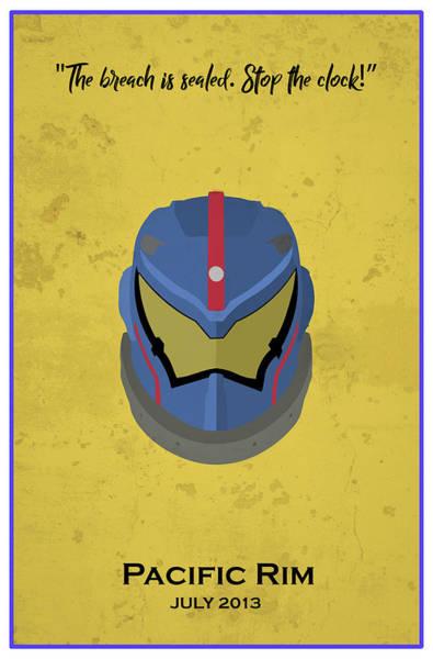 Pacific Digital Art - Minimal Movie Poster X by Ricky Barnard