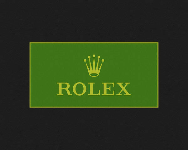 Patent Mixed Media - Minimal Rolex Logo by Dan Sproul